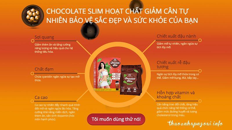 thanh-phan-cua-chocolate-slim